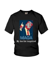 Trump Maga My Ass Got Acquitted Shirt Youth T-Shirt tile