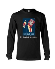 Trump Maga My Ass Got Acquitted Shirt Long Sleeve Tee tile