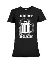 St Patricks' Day Beer Great Again Shirt Premium Fit Ladies Tee thumbnail