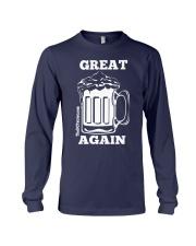 St Patricks' Day Beer Great Again Shirt Long Sleeve Tee thumbnail
