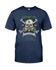Covid 19 2020 Pandemic In Case Of Emergency Shirt Classic T-Shirt tile