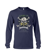Covid 19 2020 Pandemic In Case Of Emergency Shirt Long Sleeve Tee thumbnail