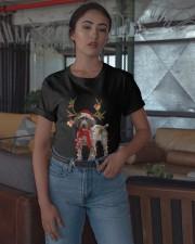 Gsp Reindeer Christmas Light Shirt Classic T-Shirt apparel-classic-tshirt-lifestyle-05