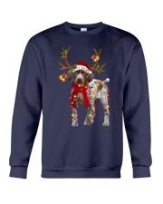 Gsp Reindeer Christmas Light Shirt Crewneck Sweatshirt thumbnail