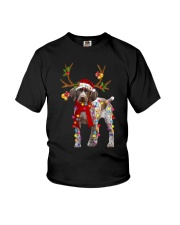 Gsp Reindeer Christmas Light Shirt Youth T-Shirt thumbnail