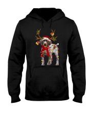 Gsp Reindeer Christmas Light Shirt Hooded Sweatshirt thumbnail