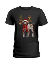 Gsp Reindeer Christmas Light Shirt Ladies T-Shirt thumbnail