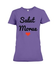 Salut Morue Shirt Premium Fit Ladies Tee thumbnail