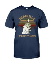 Vintage Seagulls Stop It Now Shirt Classic T-Shirt tile