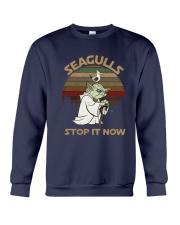 Vintage Seagulls Stop It Now Shirt Crewneck Sweatshirt thumbnail