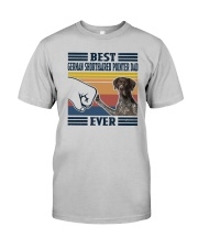 Vintage Best German Shorthaired Pointer Dad Shirt Classic T-Shirt tile