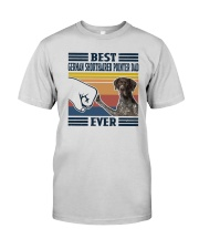 Vintage Best German Shorthaired Pointer Dad Shirt Premium Fit Mens Tee thumbnail
