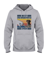 Vintage Best German Shorthaired Pointer Dad Shirt Hooded Sweatshirt thumbnail