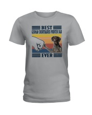 Vintage Best German Shorthaired Pointer Dad Shirt Ladies T-Shirt thumbnail