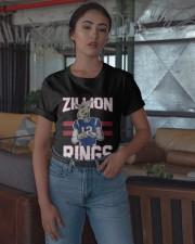 Goat 12 Zillion Rings Shirt Classic T-Shirt apparel-classic-tshirt-lifestyle-05