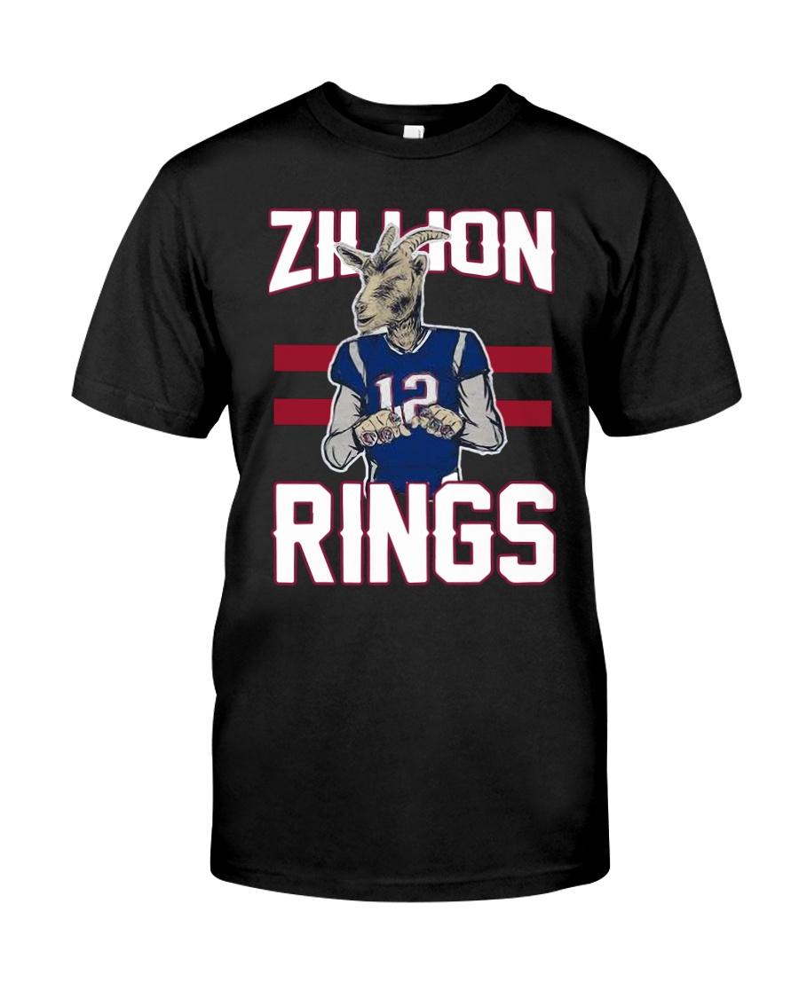 Goat 12 Zillion Rings Shirt Classic T-Shirt