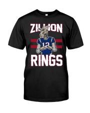 Goat 12 Zillion Rings Shirt Classic T-Shirt front