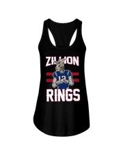 Goat 12 Zillion Rings Shirt Ladies Flowy Tank thumbnail