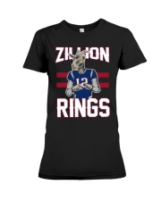Goat 12 Zillion Rings Shirt Premium Fit Ladies Tee thumbnail