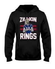 Goat 12 Zillion Rings Shirt Hooded Sweatshirt thumbnail