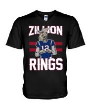 Goat 12 Zillion Rings Shirt V-Neck T-Shirt thumbnail