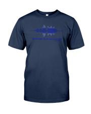Tell My Family I Love Them Shirt Thin Blue Line Classic T-Shirt tile