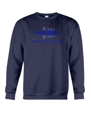 Tell My Family I Love Them Shirt Thin Blue Line Crewneck Sweatshirt thumbnail