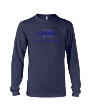Tell My Family I Love Them Shirt Thin Blue Line Long Sleeve Tee thumbnail