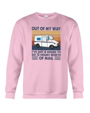 Vintage Out Of My Way Ive Got 8 Hours To Do Shirt Crewneck Sweatshirt thumbnail