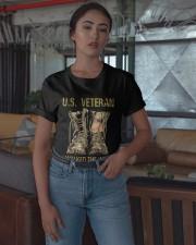 Us Veteran I Walked The Walk Shirt Classic T-Shirt apparel-classic-tshirt-lifestyle-05