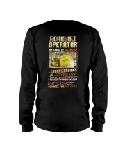 Forklift Operator My Sense Of Humor Feelings Shirt Long Sleeve Tee thumbnail