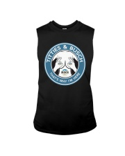 Titties And Busch That's Why I'm Here Shirt Sleeveless Tee thumbnail