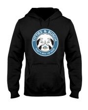 Titties And Busch That's Why I'm Here Shirt Hooded Sweatshirt thumbnail