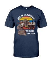 Vintage Get In Scavenger We're Going To Eat Shirt Classic T-Shirt tile