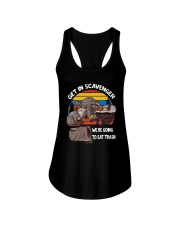 Vintage Get In Scavenger We're Going To Eat Shirt Ladies Flowy Tank thumbnail