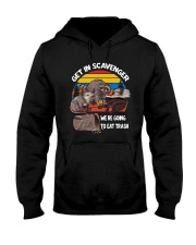 Vintage Get In Scavenger We're Going To Eat Shirt Hooded Sweatshirt thumbnail