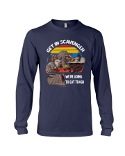Vintage Get In Scavenger We're Going To Eat Shirt Long Sleeve Tee thumbnail
