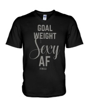 Goal Weight Sexy Af Shirt V-Neck T-Shirt thumbnail