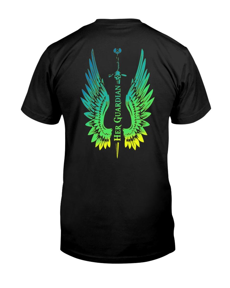 Angel Wing Her Guardian Shirt Classic T-Shirt