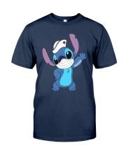Stitch Nurse Tattoo Shirt Classic T-Shirt tile