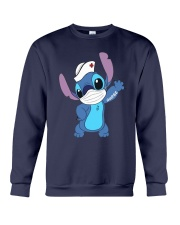 Stitch Nurse Tattoo Shirt Crewneck Sweatshirt thumbnail
