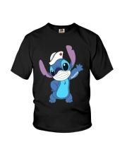 Stitch Nurse Tattoo Shirt Youth T-Shirt thumbnail