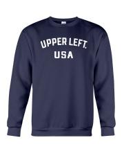 Upper Left Usa T Shirt Crewneck Sweatshirt thumbnail