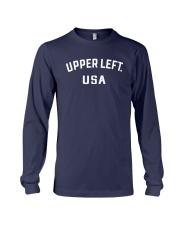 Upper Left Usa T Shirt Long Sleeve Tee thumbnail