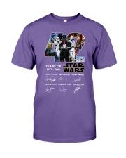 42 Years Of Star Wars 1977 2019 Signatures Shirt Premium Fit Mens Tee thumbnail