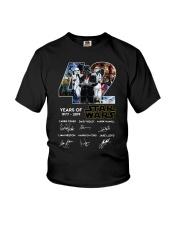 42 Years Of Star Wars 1977 2019 Signatures Shirt Youth T-Shirt thumbnail