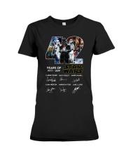 42 Years Of Star Wars 1977 2019 Signatures Shirt Premium Fit Ladies Tee thumbnail