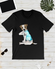 Jack Russell I Love Mom Tattoo Shirt Classic T-Shirt lifestyle-mens-crewneck-front-17