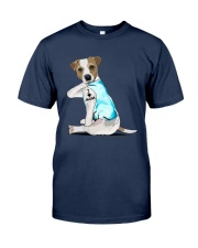 Jack Russell I Love Mom Tattoo Shirt Classic T-Shirt tile
