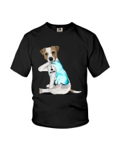 Jack Russell I Love Mom Tattoo Shirt Youth T-Shirt thumbnail